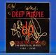 Deep Purple 2000 Signed Collectors Bootleg Cd Box Set