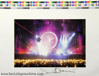 "Pink Floyd 1992 David Gilmour Signed ""Shine On"" Book Proofs"