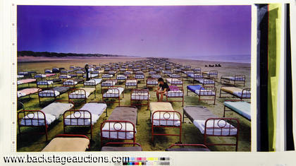 "Pink Floyd 1987 ""Momentary Lapse of Reason"" Proof Print"