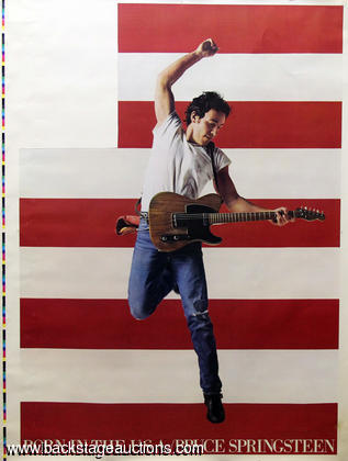 "Bruce Springsteen 1984 ""Born In The USA"" Album Art Proof Prints"