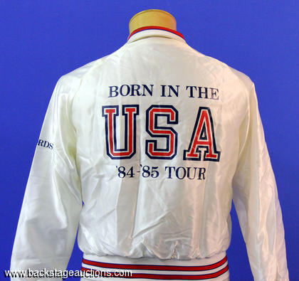 Born In The USA '84 - '85 Springsteen White Promo Tour Jacket