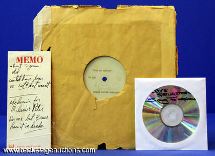 "1972 Bruce Springsteen ""Song To Orphans"" Acetate"
