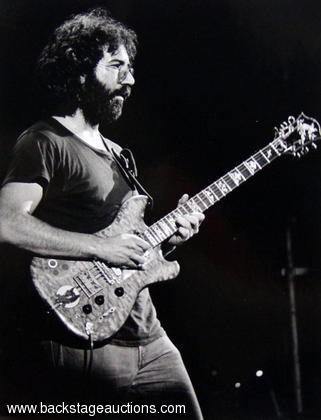 Jerry Garcia 1974 Concert Photo Winterland - San Francisco, CA