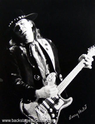 1984 Stevie Ray Vaughan Concert Photo: Freeborn Hall - Davis, California