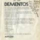 Kiss Aucoin 1978 Rare 'Dementos' Invitation w/ Ron Delsner Note