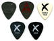 1124: Def Leppard Collen Campbell Savage 2002 Lot of 5 Concert Used Guitar Picks