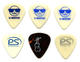 1508: Hall & Oates Lot of 6 Concert Used Guitar Picks