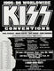 KISS 1995 New York Convention Original Concert Poster