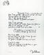 1033: The Beatles John Lennon 1995 'Borrowed Time' Bag One Arts Lyric Sheet
