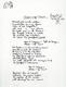 1034: The Beatles John Lennon 1995 'Clean-Up Time' Bag One Arts Lyric Sheet