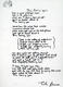 1035: The Beatles John Lennon 1995 'I'm Losing You' Bag One Arts Lyric Sheet