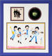 1061: The Beatles 1965 TV Cartoon Ron Campbell Signed Original Color Print