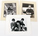 1068: The Beatles Lot of 3 Matted Black & White Oversized Reproduction Photos