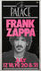 Frank Zappa 1984 Original Concert Poster The Palace, Hollywood, CA