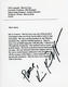 Kris Kristofferson 1996 Signed Script Page VH1 Marvin Gaye Special