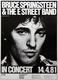 Bruce Springsteen & The E Street Band 1981 German Concert Poster