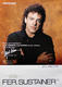 1375: Journey Neal Schon 1992 Fernandes Sustainer William Hames Signed Promo Poster