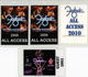 Foghat 2002 - 2010 Lot of 4 Laminated Backstage Passes