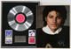 1333: Michael Jackson 1982 Thriller Columbia Records In-House Record Award