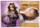 Miley Cyrus 2009 Lot of 2 Autographed Promo Postcards