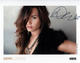 Demi Lovato 2011 Autographed Color Photo