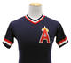 1171: David Bowie 1983 Serious Moonlight Tour Avalon Attractions Rare Promoter Baseball Jersey
