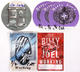 Billy Joel 1994 - 2014 Lot of 6 Backstage Passes, Dressing Room Rider