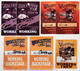 Charlie Daniels Band 1999 - 2007 Volunteer Jam Tour Backstage Passes Lot