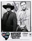 Montgomery Gentry 2002 Signed Promo Photo & Guitar Pick Lot
