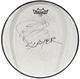 Slayer Paul Bostaph 2016 'Repentless' Texas Concert Used & Signed 12 Drum Head, Set List