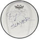 Slayer Paul Bostaph 2016 'Repentless' Texas Concert Used & Signed 10 Drum Head, Set List