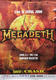 Megadeth 2000 Original Seoul, South Korea Concert Poster