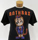 Anthrax Jon Dette 2013 - 2015 Tour T-Shirt & Drum Sticks Lot