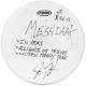 Meshiaak Jon Dette 2015 Album Recording Used Drum Head