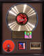 Helmet 1992 Meantime RIAA Gold LP & CD Record Award