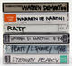 Ratt 1986 - 1994 Lot of 6 Original Japan Media Interview Cassettes