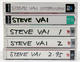 Steve Vai 1988 - 1995 Lot of 5 Original Japan Media Interview Cassettes