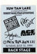 KISS Ace Frehley 1994 Laminated Sun Tan Jam Backstage Pass