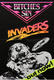 Bitches Sin 1989 'Invaders' UK N.W.O.B.H.M.  Promotional Poster