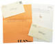 1019: Dean Miller 1982 Lot of 2 Typed & Signed Letters To Willie & Connie Nelson