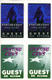Counting Crows 1996 - 1997 Lot of 4 Laminated Backstage Passes