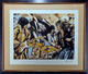 The Rolling Stones Ronnie Wood Signed & Framed Limited Edition Flatbed`75 Screen Print