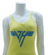 Van Halen 1979 Ladies Lacy Original VH Logo Tank Top