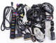 Assortment of Power, Component & Computer Cables