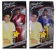 1302: Michael Jackson 1984 Lot of 2 Official Thriller / Grammy Awards Dolls In Box