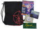 Rush Collectibles Lot Backpack, CDs, Magazine & Vintage Sticker