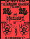 Death Angel Legacy 2-1985 Original Mabuhay Gardens East Bay Area Thrash-Metal Concert Handbill