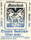 Motorhead Lizzy Borden Savage Grace 1987 Original Hollywood, CA Concert Handbill