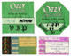 Ozzy Osbourne 1982 - 1989 Lot of Used Backstage Passes & Concert Tickets