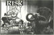 Legacy Risk 11-1986 Original The Omni East Bay Area Thrash-Metal Concert Poster